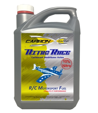 Carburant Avion 10% Nitro Bidon 5L