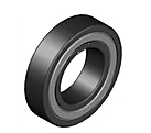 High Temperature Bearing BHTS C4 ZZ 280°