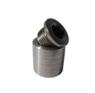 Steel weld-in bung and plug for sensor -3735-
