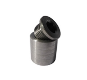Stainless Steel Extended weld-in bung and plug for sensor -3838-