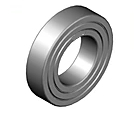 High Temperature Bearing BHTS C4 ZZ 200°