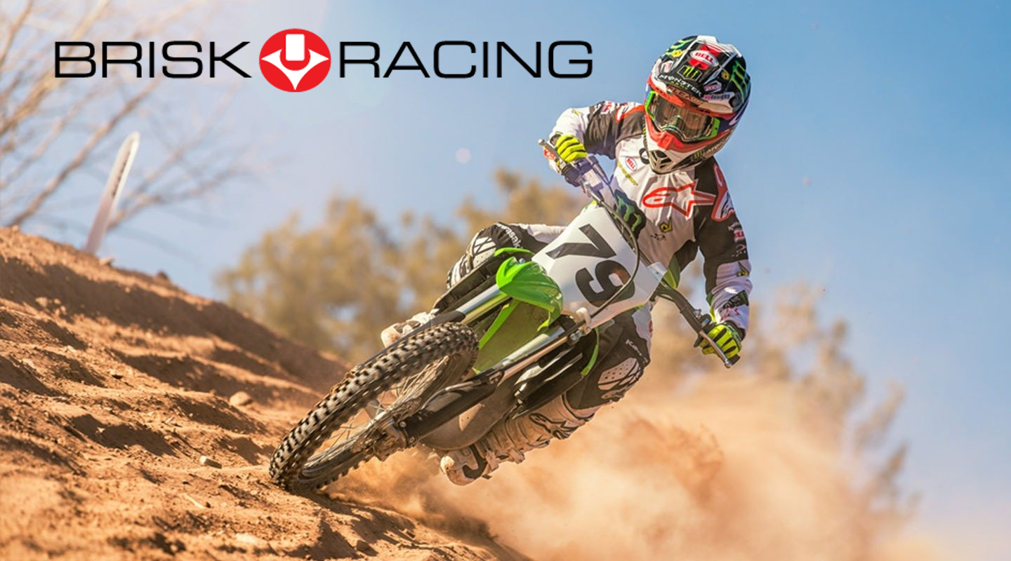 Bougies Brisk Racing motos MX/SX